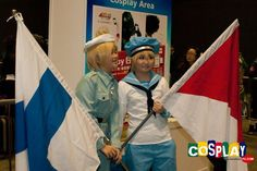 Peter Kirkland (Sealand) Cosplay from Axis Powers Hetalia in Asia Game Show 2011 Hong Kong