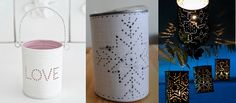 latas de conserva pintadas - Buscar con Google
