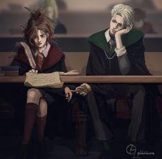 Arte Do Harry Potter, Harry Potter Items, Harry Potter Artwork, Harry Potter Draco Malfoy, Harry Potter Ships, Harry Potter Anime, Harry Potter Facts, Harry Potter Fan Art, Harry Potter Characters