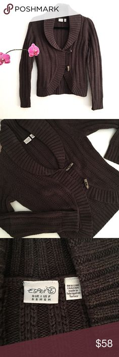 🎉Host Pick🎉Awesome cotton Sweater Jacket👍🏻 Super cute sweater! Excellent Condition, got it from Germany Esprit Sweaters