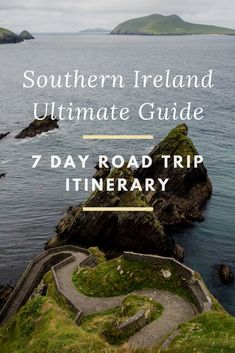 Everything you need to know to plan your very own 7 day road trip around the southern part of Ireland.