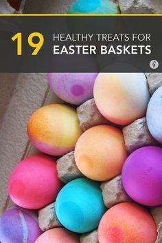 50 junk free easter basket ideas basket ideas easter baskets and 19 ideas for a healthier easter basket negle Gallery