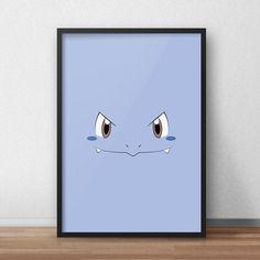 Een persoonlijke favoriet uit mijn Etsy shop https://www.etsy.com/nl/listing/590214886/wartortle-pokemon-printed-canvas