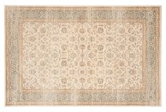 This rug showcases timeless motifs that are rich with impressive detail. A neutral palette ensures it will work beautifully with most existing color schemes, and because it is crafted of...