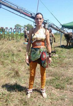 Boho sandals sandalias Layer boots Raquel Sánchez Silva en Supervivientes 2014! Style boho wild fashion