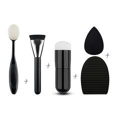 Cheap brush egg cleaner, Buy Quality black makeup brushes directly from China makeup brushes Suppliers: Black Makeup Brushes Water Sponge Cosmetic Puff Brush Egg Cleaner Sets Better Price Factory Sale Makeup Brush Cleaner, Makeup Brush Set, Brush Cleaning, Makeup Sets, Foundation Brush, No Foundation Makeup, Powder Foundation, Makeup Blender, How To Clean Makeup Brushes