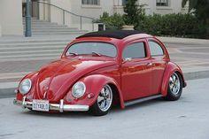 "The impressive ""Diyablo"" 1957 VW Beetle"