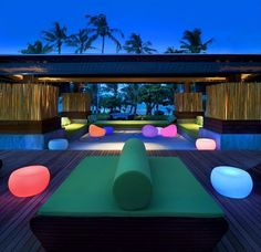 Make yourself comfortable and enjoy colour and light, at this hotel.
