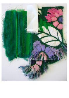 So in love with this beauty. Dont even get me started on the colour palette perfection. Art Fibres Textiles, Motifs Textiles, Textile Fabrics, Textile Patterns, Sewing Patterns, Textile Texture, Textile Fiber Art, Fabric Textures, Design Textile