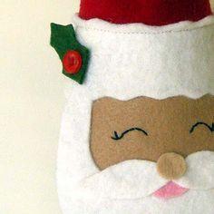 cute felt santa
