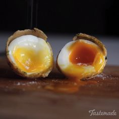 Try this herb-breaded soft boiled egg and you'll never look at them the same way again.