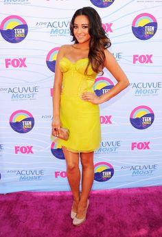 Shay Mitchell   2012 Teen Choice Awards