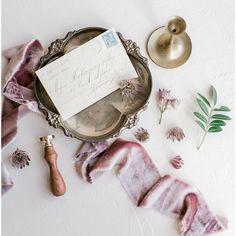 Vintage inspired wedding invitation flatlay with silk velvet ribbons and handwritten calligraphy Wedding Calligraphy, Wedding Stationery, Wedding Invitations, Wedding Events, Wedding Ceremony, Wedding Day, Velvet Ribbon, Silk Ribbon, Bridal Gifts