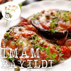 My favorite Turkish dish! Stuffed aubergine or eggplant. A classic food recipe from Turkey's rich cuisine. I made them with a lítlle bit cheese here. But the recipe is originally vegan, so you don't need to add cheese.