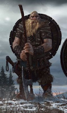 Thorin the Dwarf Barbarian