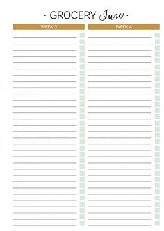 Planner Addiction | The Addiction Planner – 25 Printable Planner Pages – June 2016
