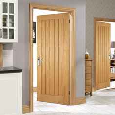 Free delivery over to most of the UK ✓ Great Selection ✓ Excellent customer service ✓ Find everything for a beautiful home Internal Doors Modern, Internal Wooden Doors, Oak Interior Doors, Oak Doors, Exterior Doors, Two Panel Doors, Indoor Doors, Oak Panels, Fire Doors