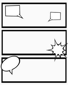 Comic Strips Template Best Of Blank Comic Strip Template With Speech Bubbles Printable Strips For Narration Sweet Hot Mess Blank Comic Strip Template Pdf Drq Blank Comic Book, Make A Comic Book, Free Comic Books, Flip Book Template, Comic Strip Template, Comic Strips, Free Comics, How To Make Comics, Creative Kids
