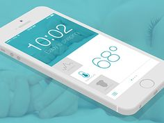Dribbble - Baby Monitor by Michelle Gray