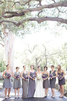 grey dresses Bridesmaids, classic, keveza, lover.ly, loves, romona, photography, Santa Barbara, California