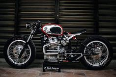 When your work is recognised to be of such a high standard that you're asked to build a motorcycle for a major custom show, there are really only two choices a… Cx500 Cafe Racer, Cafe Racer Bikes, Scrambler, Custom Cafe Racer, Custom Bobber, Custom Bikes, Honda Bikes, Honda Motorcycles, Cycling Art