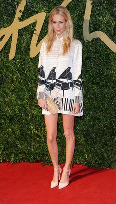 Poppy Delevingne British Fashion Awards 2013