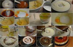Κέικ σοκολάτας με κρέμα καραμελέ (VIDEO) - cretangastronomy.gr Muffin, Food And Drink, Pudding, Breakfast, Desserts, Morning Coffee, Tailgate Desserts, Deserts, Custard Pudding