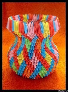 Origami vase with ear ver II by ~blackwild on deviantART