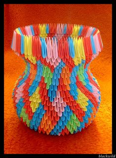 Origami vase with ear ver II by ~blackwild on deviantART