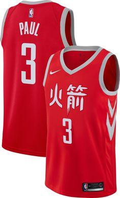 f9f4d45e6 Nike Men s Houston Rockets Chris Paul Dri-FIT City Edition Swingman Jersey