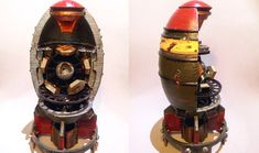 3D Printed cutaway model of a mini nuke #Fallout4 #gaming #Fallout #Bethesda #games #PS4share #PS4 #FO4