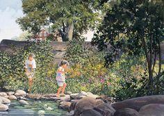 Secret Garden via MuralsYourWay.com