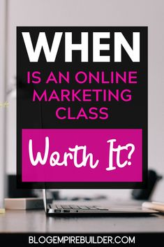 How to Tell if an Online Business Course is Any Good Online Entrepreneur, Business Entrepreneur, Business Tips, Online Business, Make More Money, Make Money Blogging, Make Money Online, Content Marketing, Affiliate Marketing