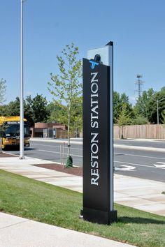 Reston Station | by Younts Design #ydi #egd #signage
