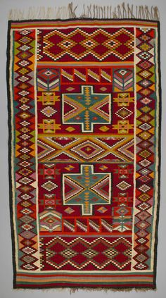 African rug - looks to be Moroccan.