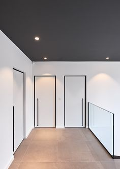 Stylish modern and also contemporary strong timber entry doors provide your hous… - Moderne Inneneinrichtung Pivot Doors, Internal Doors, Entry Doors, White Interior Doors, White Doors, Door Design, House Design, Windows And Doors, Interior Architecture