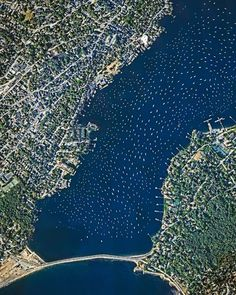 Boats moored in Marblehead, Massachusetts | Revue