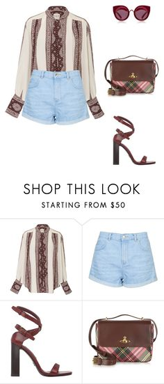 """""""Music Video in Los Angeles."""" by cmmpany ❤ liked on Polyvore featuring Sea, New York, Topshop, Prada, Vivienne Westwood and House of Holland"""