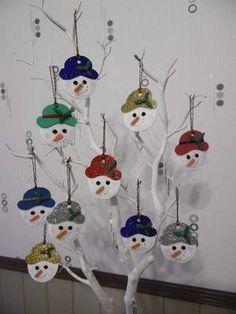 Tête de bonhomme de neige