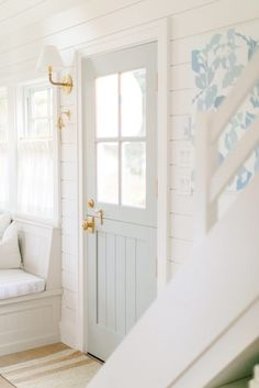 Welcome to MH (tiny) Home Store! Dutch Door, Humble Abode, Interiores Design, Home Decor Inspiration, Mudroom, Tiny House, Beautiful Homes, Sweet Home, New Homes