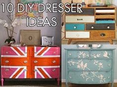 Thanks, I Made It Myself: 10 Ways To Paint A Plain Dresser