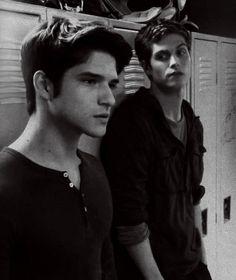 Teen Wolf. Tyler posey and Daniel sharman