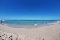 spiaggia a baia delle mimose