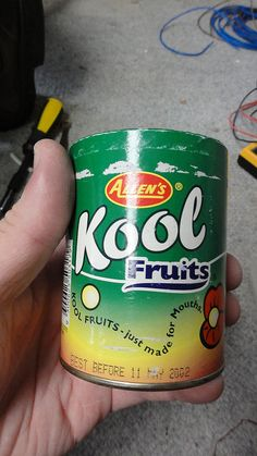 Kool Fruits - i used to love these lollies that came in a canister.