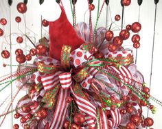 Christmas Wreath with snowNatural Christmas by Keleas on Etsy
