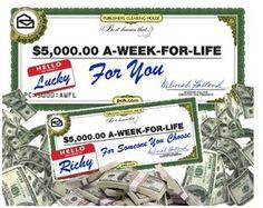 Win $5,000 A Week