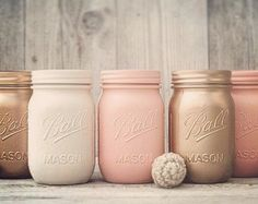 Beautiful sparkle mason jars, glitter dipped mason jars. wedding or home decor mason jars, glitter mason jars.These shimmering mason jars are stunning at a fabulous price of only $4.99 for pint size o