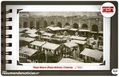 Resumen de Noticias: Foto Histórica   Plaza Mayor de Caracas