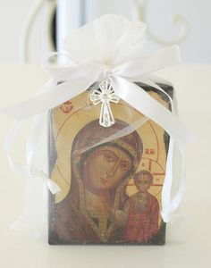 orthodox baptism favors - Google Search Baby Boy Christening, Christening Favors, Baptism Favors, Baptism Ideas, Boy Baptism, Wedding Favours, Christian Baptism, Orthodox Christianity, Baptisms