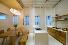 G+architects Remodel a Home in Ho Chi Minh, Vietnam Airbnb Design, Narrow House Plans, Vietnam, Open Plan, Furniture Decor, New Homes, Inspiration, Architecture, Gallery